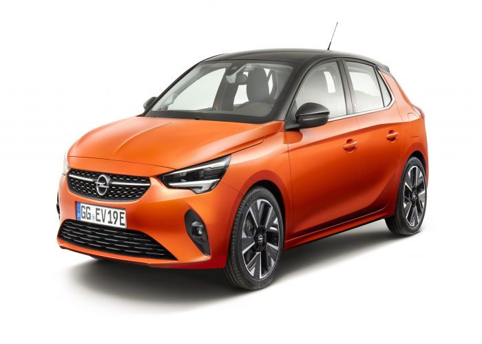Opel corsa orange 2020